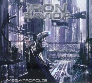 Iron Savior - Megatropolis - Front