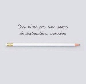 matita #CharlieHebdo